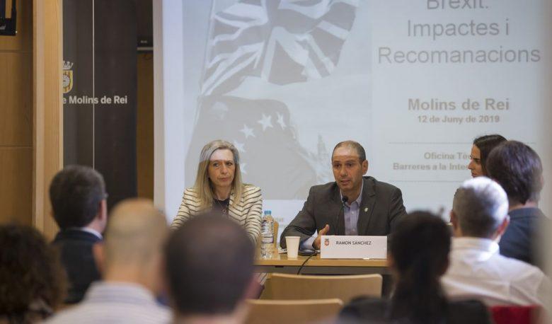 Ajuntament i Generalitat expliquen les conseqüències del Brèxit